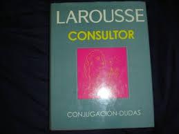 consultor conjugación y dudas