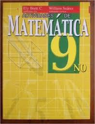 Actividades de matemática 9no