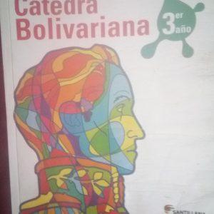 Cátedra bolivariana 3er año