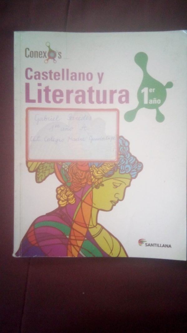Castellano y literatura 1er año