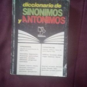 Diccionario de sinóminos y antónimos