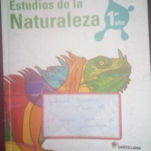 studEstudios de la naturaleza 1er año