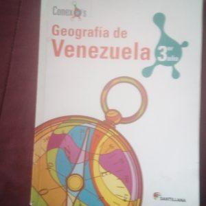 Geografía de Venezuela 3er año