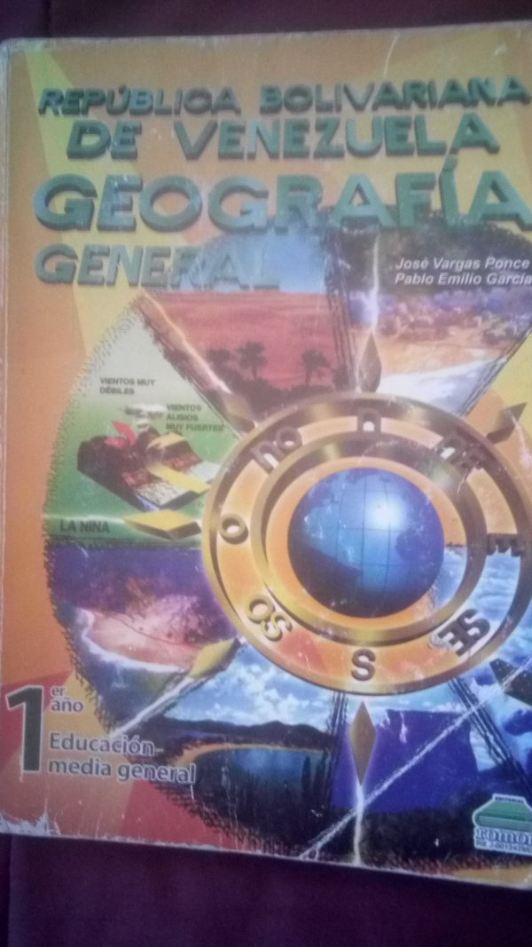 Geografía general 1er año