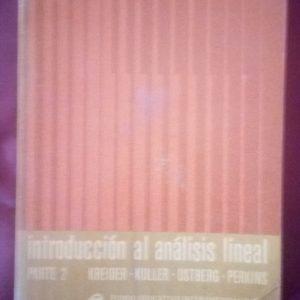 Introducción al análisis lineal