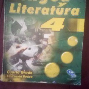 Lengua y literatura 4to grado