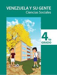 Venezuela y su gente Ciencias sociales 4°