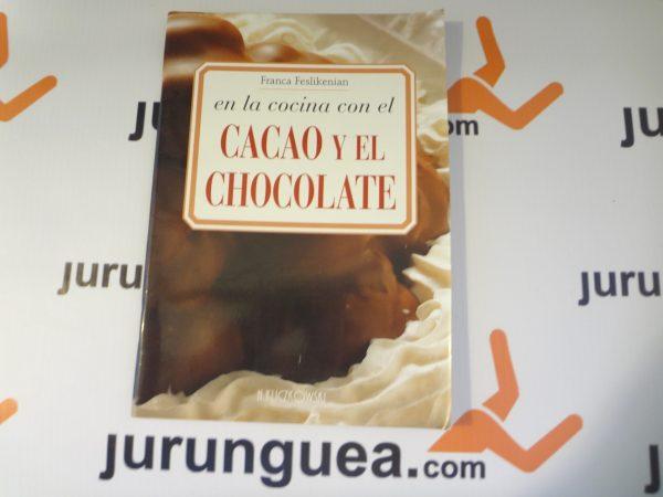 En la cocina con el cacao y chocolate